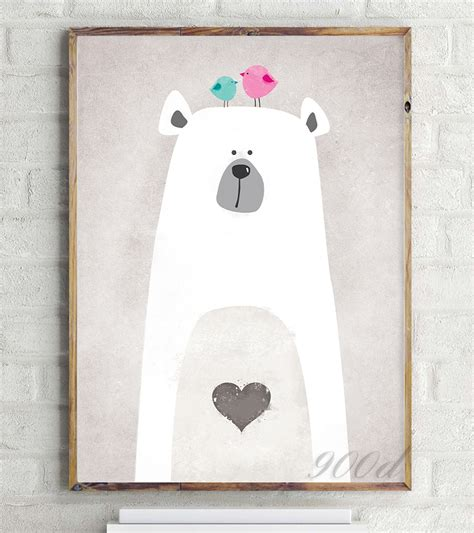 poster pour chambre aliexpress com buy polar canvas