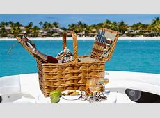Yacht Charters Antigua Life's a Picnic Champagne Power