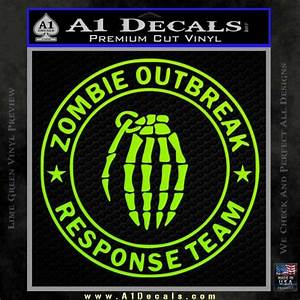 Diamond Price Chart 2015 Zombie Outbreak Response Team D2 Decal Sticker A1 Decals