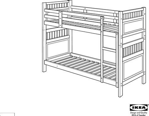 Ikea Bed Gebruiksaanwijzing by Handleiding Ikea Hemnes Stapelbed 2 Pagina 1 14