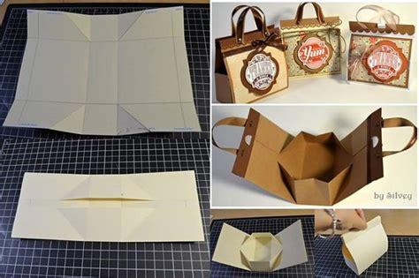 wonderful diy mini cardboard gift bag
