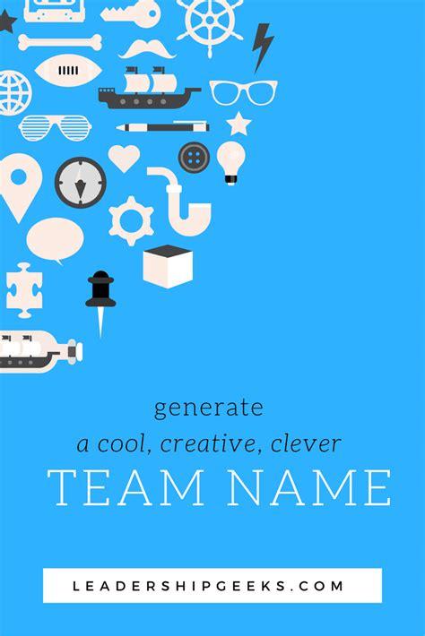cool team  generator   choose   team