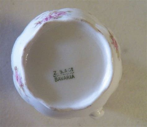 tea set marked    bavaria tea pot creamer