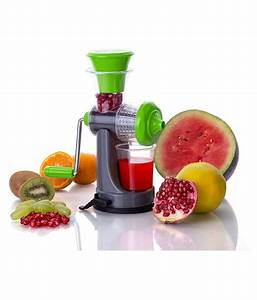 Nano Fruits And Vegetables Manual Juicer With Steel Handle