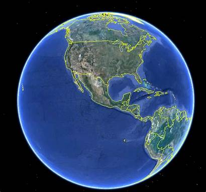 Earth Google Flat Marble Frame North Maps