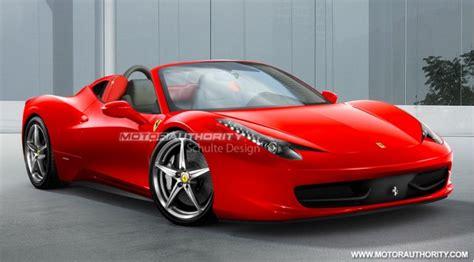 Report Ferrari 458 Italia Spider Confirmed
