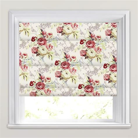Bedroom Blinds Uk by Red Pink Yellow Taupe Amp Cream Traditional Floral Roman