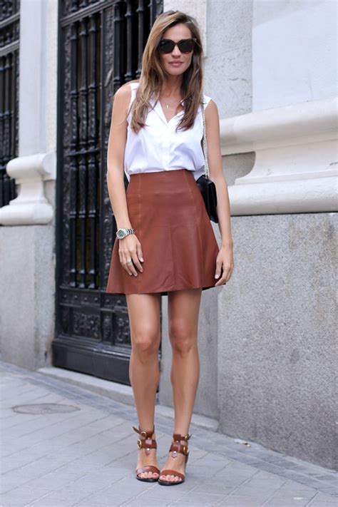 Mini Skirt Outfits Cute Ways To Wear A Mini Skirt - Just The Design