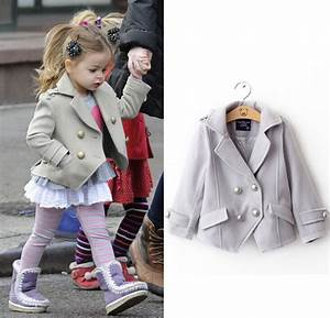 2014 Toddler Girls Winter Jackets Clothing Female Child ...