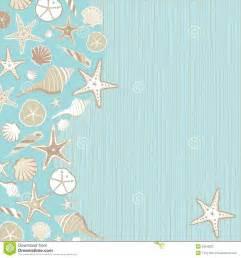 beachy wedding invitations seashell party invitation stock photography image