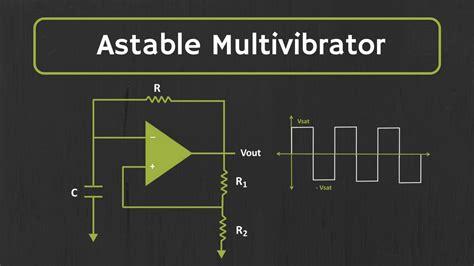 Astable Multivibrator Using Amp Explained Youtube