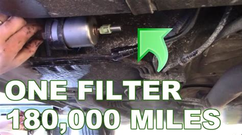 replace  fuel filter gm fuel filter youtube