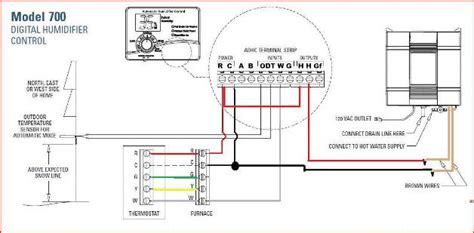 question  wiring aprilaire  welectronic humidistat