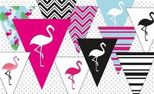Girlande Basteln Vorlage : diy party girlande zum ausdrucken miomodo diy blog ~ Watch28wear.com Haus und Dekorationen