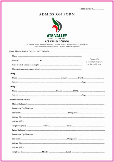 registration form format pdf 9 registration form php template opuii templatesz234