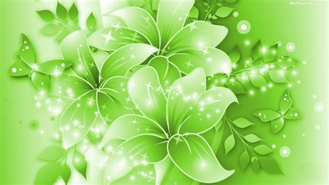 green flowers wallpapers hd pictures one hd wallpaper