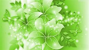 Green Flowers Wallpapers HD Pictures