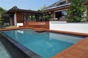 Piscine A Débordement : r ver avec votre piscine d bordement ~ Farleysfitness.com Idées de Décoration