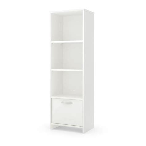 South Shore White Bookcase by South Shore Step One White Open Bookcase 10249 The