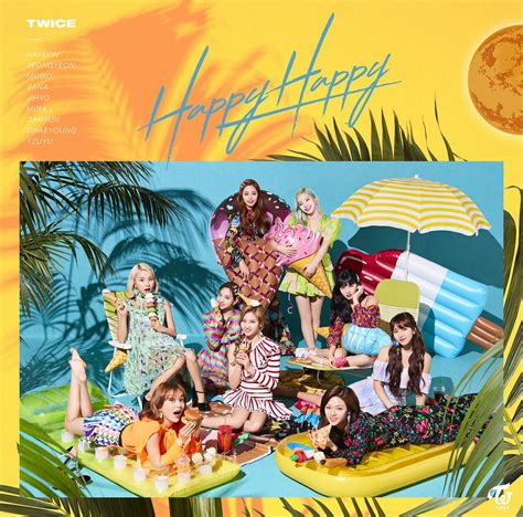 japan 4th 5th single happy happy breakthrough