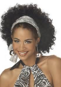 70s Disco Hairstyles Black Women