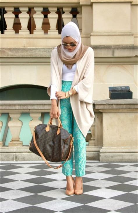 fashionable  hijab fashion outfit