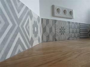 Carreaux De Ciment Credence : cr dence en carreaux de ciment c t bar r novation ~ Dailycaller-alerts.com Idées de Décoration