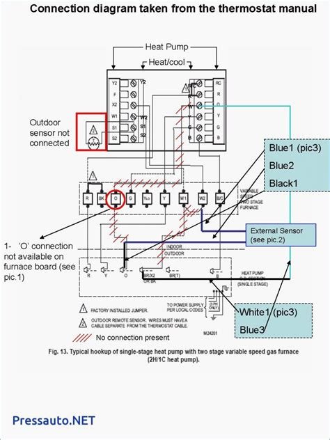 2 Stage Thermostat Wiring Diagram by Top 2 Stage Furnace Thermostat Wiring Diagram Trane