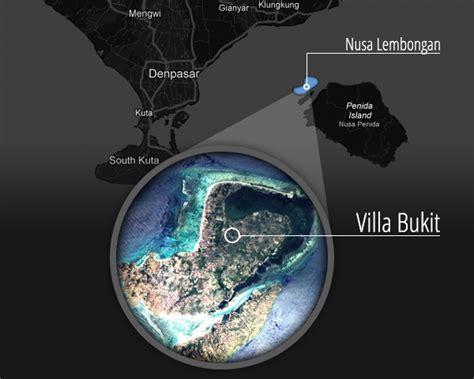 location villa bukit nusa lembongan bali