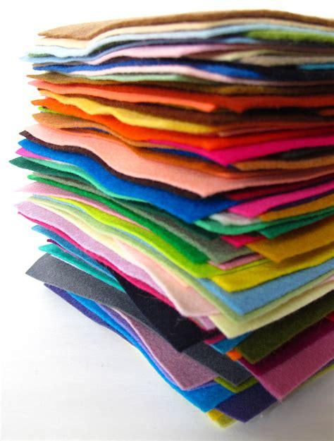 wool felt assortment 100 wool pure merino sheets squares