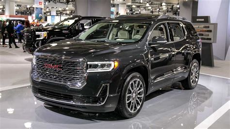 2020 Gmc Acadia Denali by 2020 Gmc Acadia Refresh Revealed With New Turbo 2 0l Engine