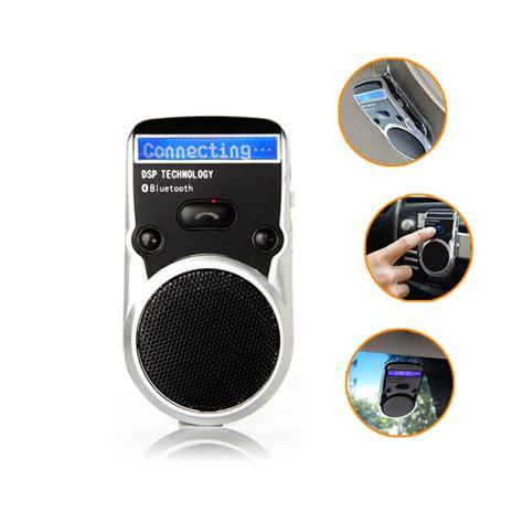 free phone for car solar powered speakerphone wireless bluetooth