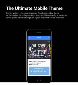 [Download] Nightly Mobile | The Ultimate Mobile Theme Nulled