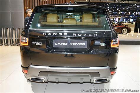 2018 Range Rover Sport (facelift) Showcased At Dubai Motor