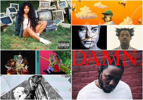 The 15 Best Hip-hop And R&b Albums Of 2017