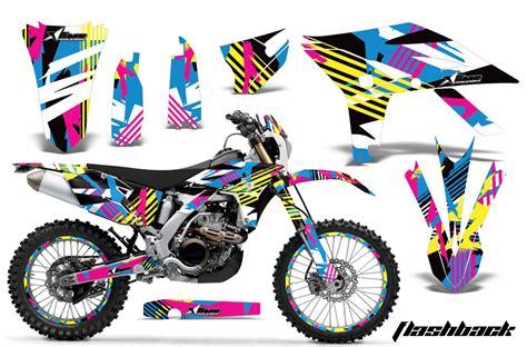 motocross bike graphics yamaha motocross graphic sticker kit 2012 2015 yamaha mx