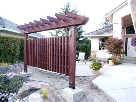 popular free standing pergola on patio garden landscape