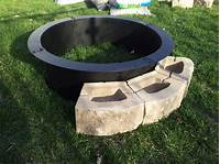 fire pit rings How to build lowes fire pit ring – Fire pit pics