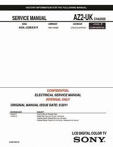 Sony Kdl-32bx311  Serv Man2  Service Manual