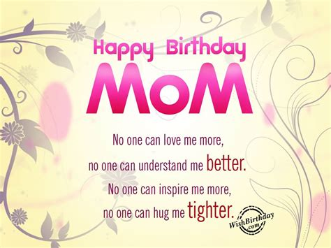 happy birthday mom letter world  reference
