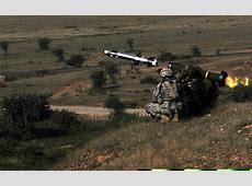 FGM148 Javelin infrared antitank guided missile