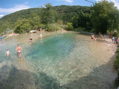 Swimming In The Korana River.