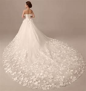 luxury chapel train church wedding dresses lace up back With church wedding dresses