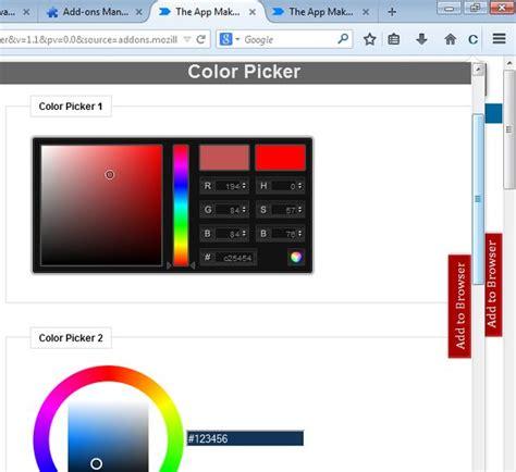 color picker firefox firefox color picker 10 useful firefox developer tools