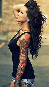 Girl Sleeve Tattoos - The iPhone Wallpapers