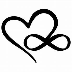 Silhouette Design Store: infinity heart | Sophie Gallo ...