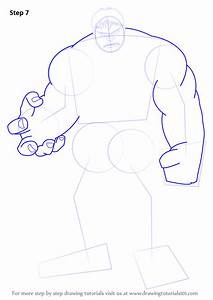 Learn How to Draw The Hulk (The Hulk) Step by Step ...
