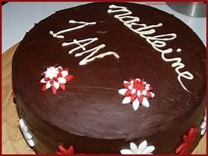 Décorer Un Gateau Au Chocolat : comment decorer un gateau anniversaire au chocolat ~ Melissatoandfro.com Idées de Décoration