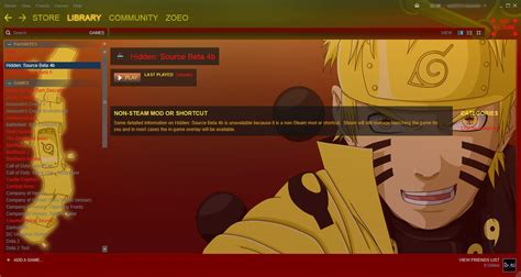 Naruto Ultimate Bijuu Steam Skin [wip] + Download By Midzm
