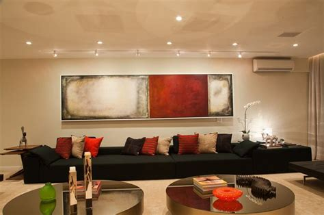 Black Sofa Design by 20 Attractive Black Sofa Living Room Home Design Lover